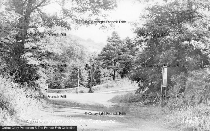 Photo of Ambergate, Woods Entrance c.1955