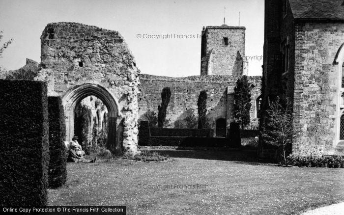 Photo of Amberley, Castle 1949