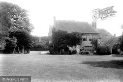 Castle Courtyard 1896, Amberley