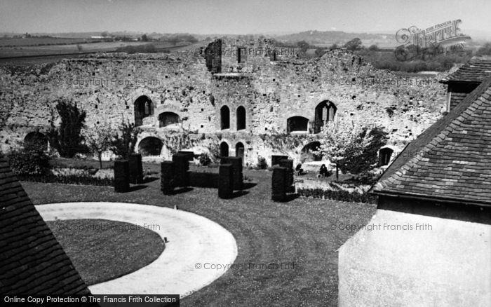 Photo of Amberley, Castle Courtyard 1949