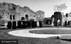 Amberley, Castle Courtyard 1949