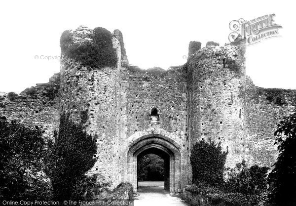 Photo of Amberley, Castle Gatehouse 1898