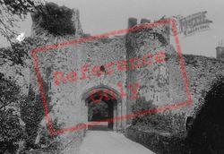 Amberley, Castle Gateway 1896