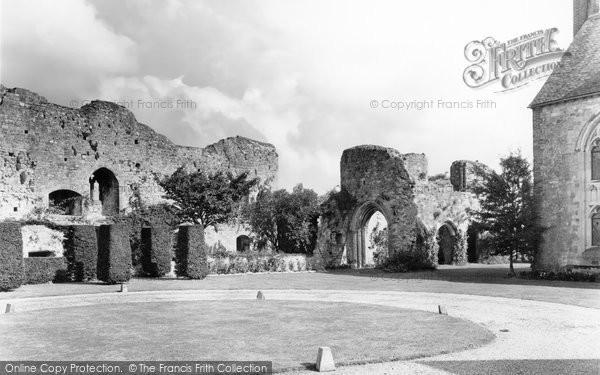 Amberley, Castle Grounds c.1960