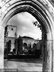 Amberley, Castle Grounds c.1960