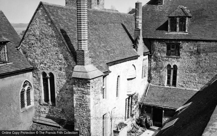 Photo of Amberley, Castle, The House 1949