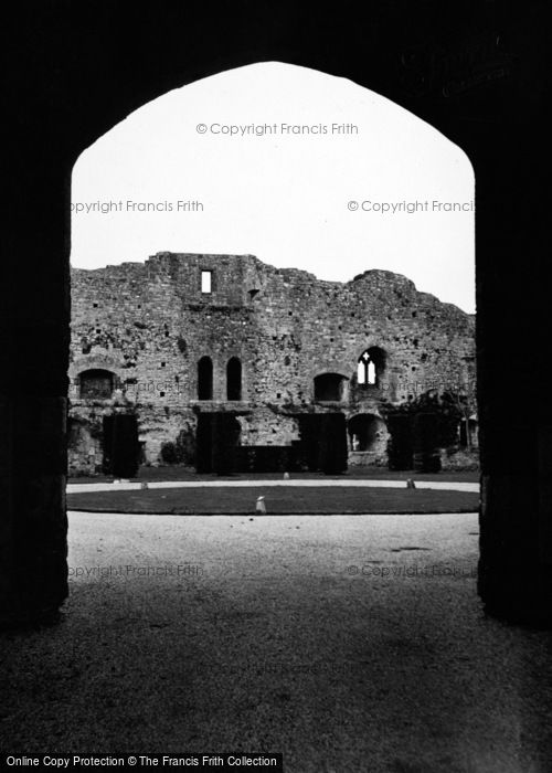 Photo of Amberley, Castle Through Arch 1950