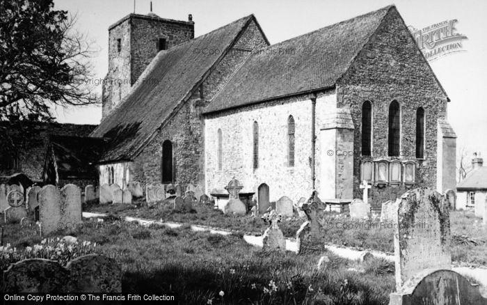 Photo of Amberley, Church c.1950