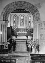 Church Interior c.1955, Amberley