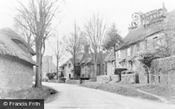 Amberley, Church Street c.1950