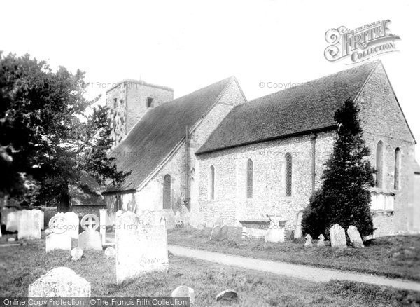 Photo of Amberley, St Michael's Church 1899