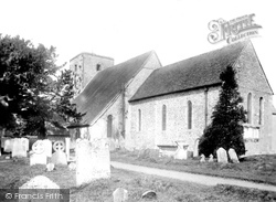 Amberley, St Michael's Church 1899