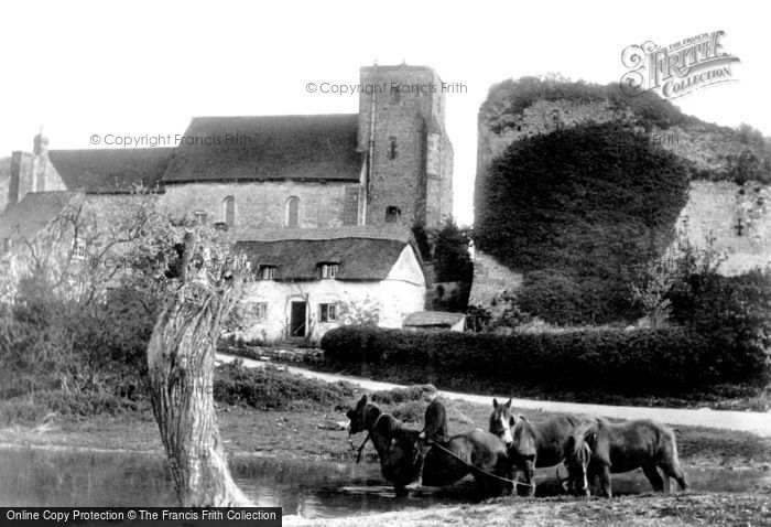 Photo of Amberley, St Michael's Church And Castle 1906
