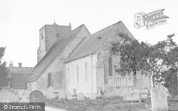 Amberley, St Michael's Church c.1935