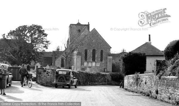 Amberley, St Michael's Church c.1950