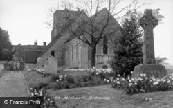 St Michael's Church c.1955, Amberley