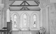 Amberley, St Michael's Church Interior c.1935