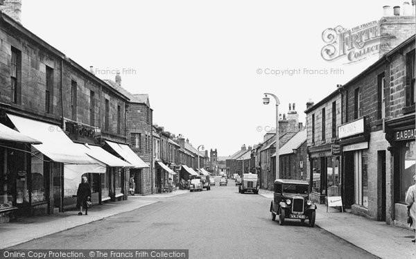 Photo of Amble, Queen Street 1955
