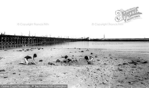 Photo of Amble, the Beach c1965, ref. a225048