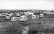 Amble, The Caravan Site c.1955