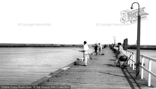 Photo of Amble, The Pier c.1965