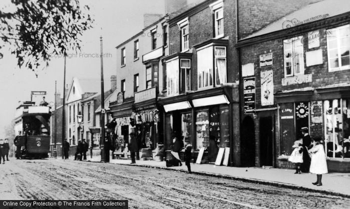Photo of Amblecote, High Street c.1900