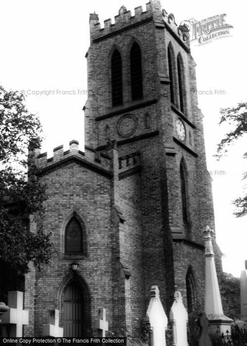 Photo of Amblecote, Holy Trinity Church c.1965
