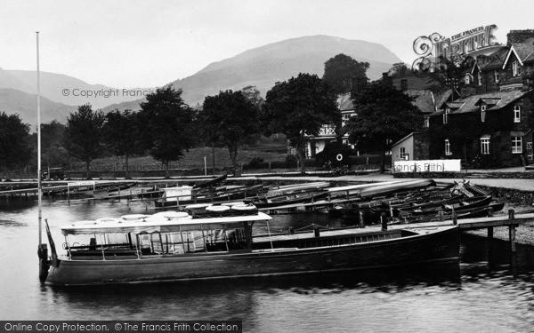 Photo of Ambleside, Boats At Waterhead 1926