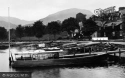Ambleside, Boats At Waterhead 1926