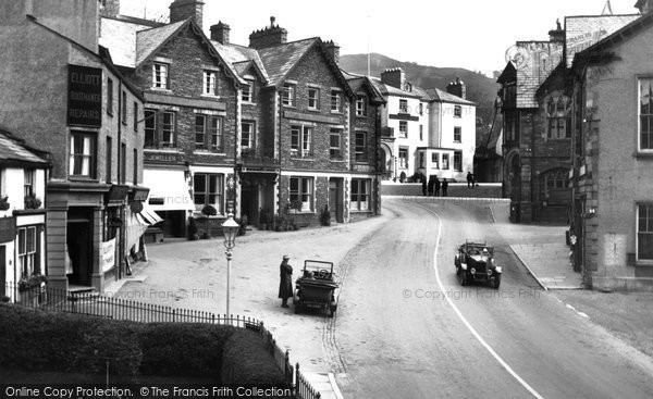 Photo of Ambleside, Market Square 1926