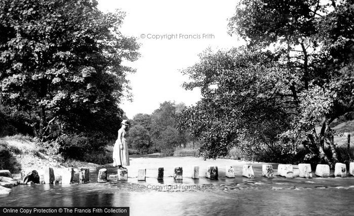 Photo of Ambleside, Stepping Stones 1888