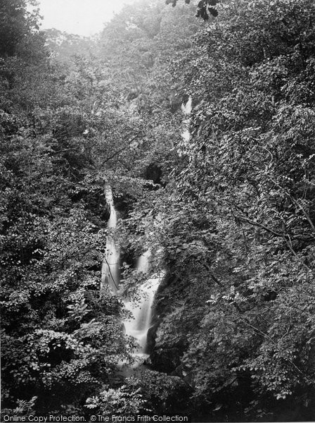 Photo of Ambleside, Stock Ghyll Force c.1860