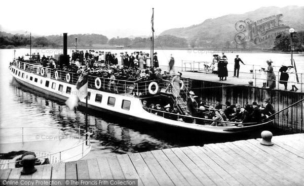 Photo of Ambleside, The Waterhead Ferry 1912