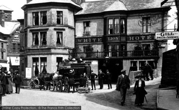 Photo of Ambleside, The White Lion Hotel 1912