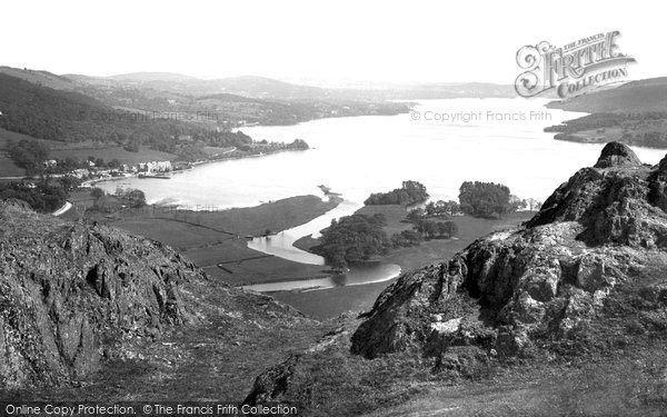 Photo of Ambleside, Windermere from Loughrigg 1912, ref. 64311