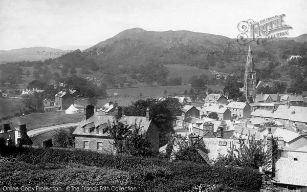 Photo of Ambleside, With Loughrigg 1886