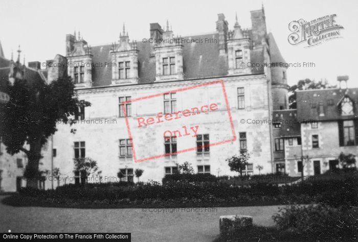 Photo of Amboise, Chateau D'Amboise 1935