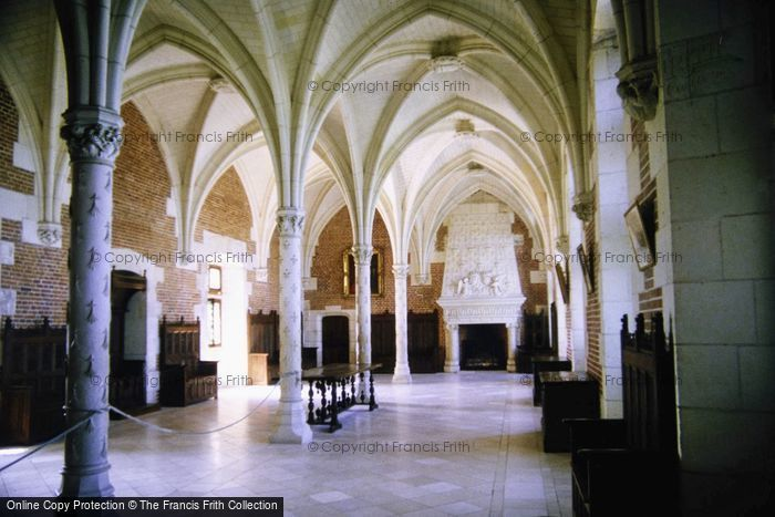 Photo of Amboise, Chateau D'Amboise, Hall Of States c.1984
