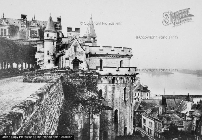 Photo of Amboise, Chateau D'Amboise, Overlooking The Town c.1935