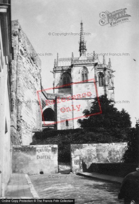 Photo of Amboise, Chateau D'Amboise, St Hubert's Chapel 1935