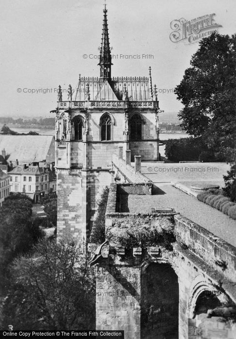 Photo of Amboise, Chateau D'Amboise, St Hubert's Chapel c.1935