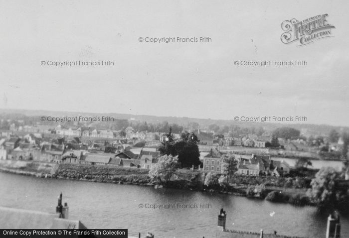 Photo of Amboise, View From The Chateau c.1935
