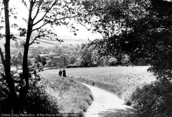 Amersham, From Parsonage Woods 1958