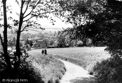 Amersham, From Parsonage Woods 1958