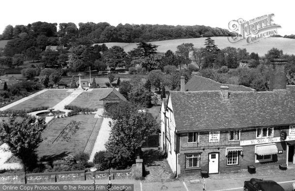 Photo of Amersham, Garden Of Remembrance And Ye Olde Malt Tea House c.1958