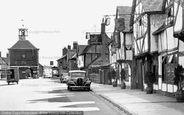 Photo of Amersham, High Street c.1950