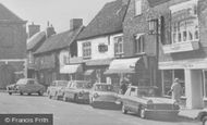 Amersham, Market Square Businesses c.1960