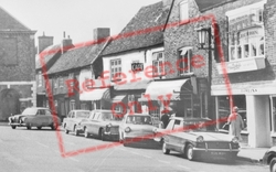 Amersham, Market Square Businesses c.1965