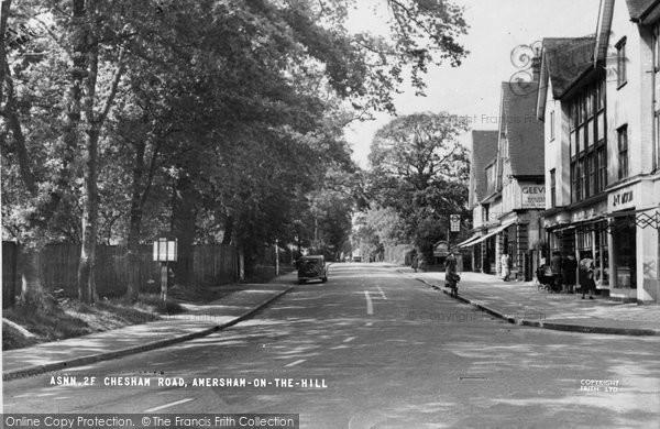 Photo of Amersham On The Hill, Chesham Road c.1950