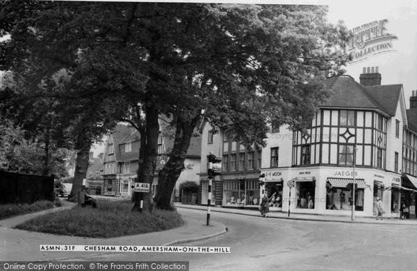 Photo of Amersham On The Hill, Chesham Road c.1955